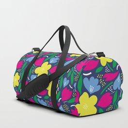 Floral Festival Duffle Bag