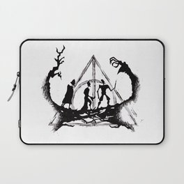 The Three Brothers Inktober Drawing Laptop Sleeve