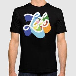 LIFE / TYPE T-shirt