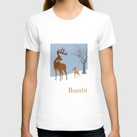 bambi T-shirts featuring Bambi by TheWonderlander