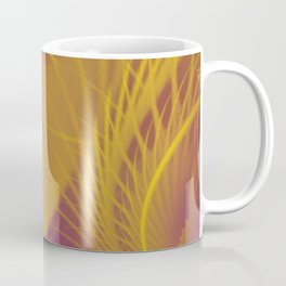 Tickle Me With a Purple and Gold Feather Coffee Mug