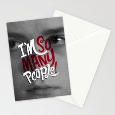 I'm So Many People Stationery Cards