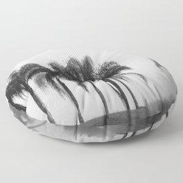 Foggy Morning Floor Pillow