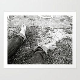 Down in the Dirt Art Print