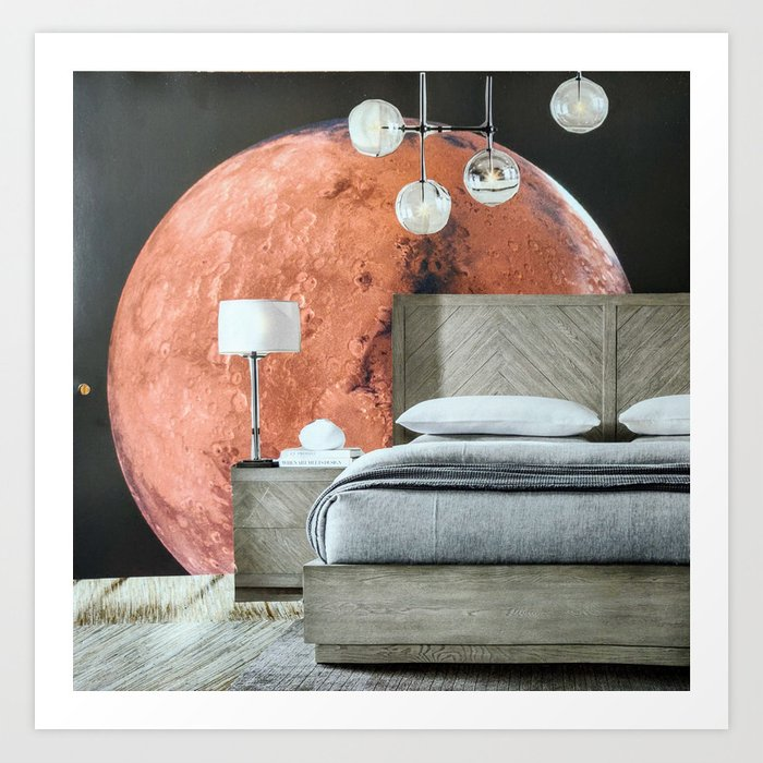 Your Modern Celestial Home II Art Print