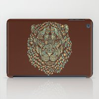 royal iPad Cases featuring Lion (Royal) by Norman Duenas