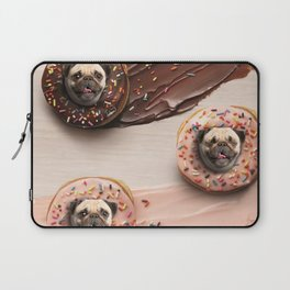 Pugs Succulent Donuts Laptop Sleeve
