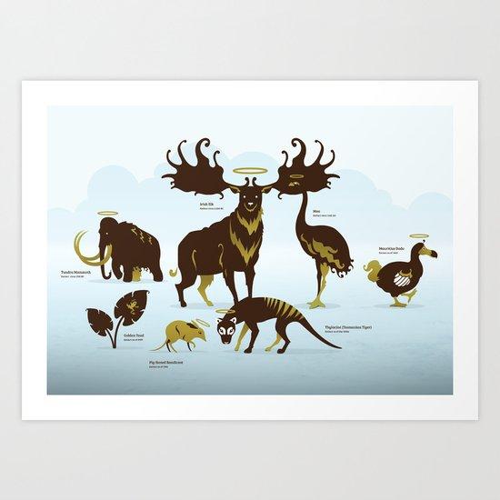 God's Zoo Art Print