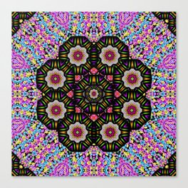 decorative ornate candy with soft candle light for peace Canvas Print