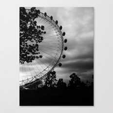 London Eye: Through The Trees Canvas Print