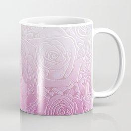 roses and pink gradient Coffee Mug