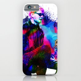 Layne Staley - Water Colour Art Design iPhone Case