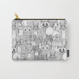 crazy cross stitch critters Carry-All Pouch