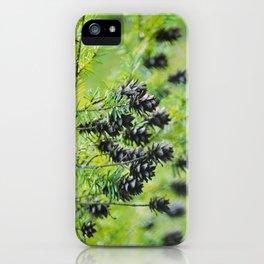 Snoqualmie Cones iPhone Case