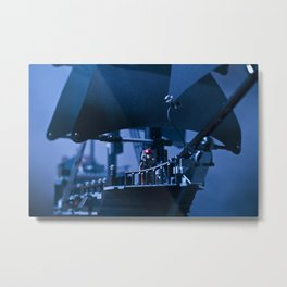 Lego Jack Sparrow Metal Print