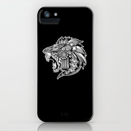 Huichol Jaguar Mexican Art Aztec iPhone Case