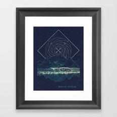 Special Storms Framed Art Print