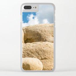 Big Rock 7445 Joshua Tree Clear iPhone Case