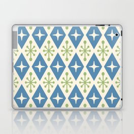 Mid Century Modern Atomic Triangle Pattern 104 Laptop & iPad Skin
