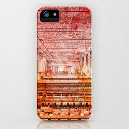 Abandoned Silk Mill - Pastel Grunge iPhone Case