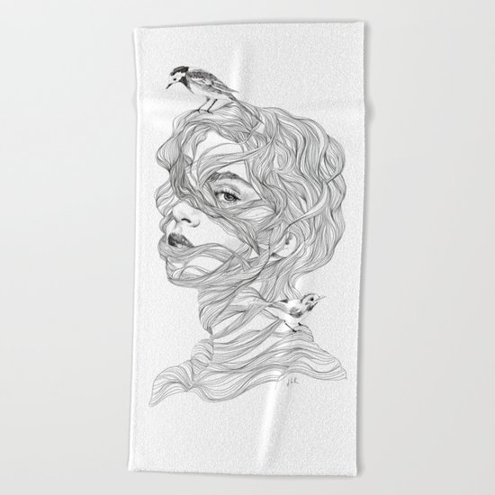 Rapunzel Beach Towel