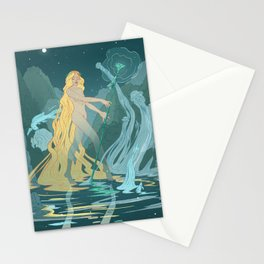 Nymph of the river Stationery Cards