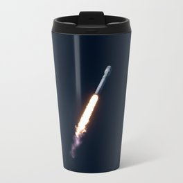 SpaceX Falcon 9 Tourism Poster Travel Mug