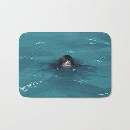 The Ocean Loved Her Bath Mat