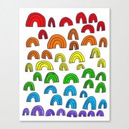 Rainbow Meta Canvas Print