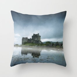 Scottish Castle Throw Pillow