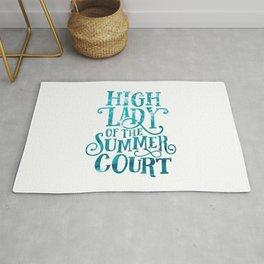 High Lady Summer Court ACOTAR Rug