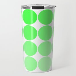 Green Circle Color Chart Travel Mug