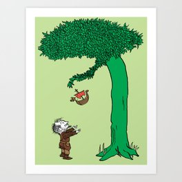 The Giving Yggdrasil Art Print