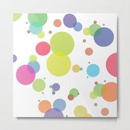 dots and circles Metal Print