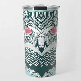 Vintage Owl Travel Mug