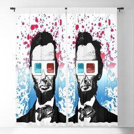 Abraham Lincoln - 3D Blackout Curtain