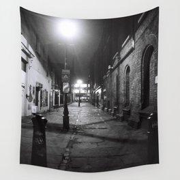 London Alleyway Wall Tapestry