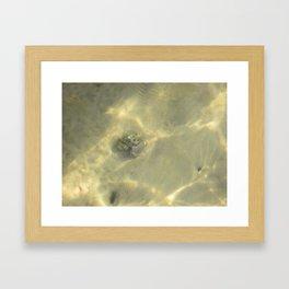 Underwater Love Framed Art Print