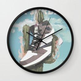 Travis x Air Jordan 1 Poster Wall Clock