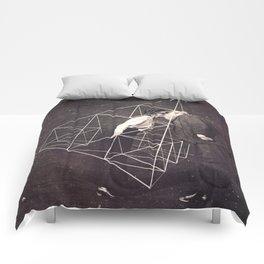 Victorian Nerds in Love Comforters