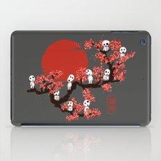 Traditinal Kodamas iPad Case