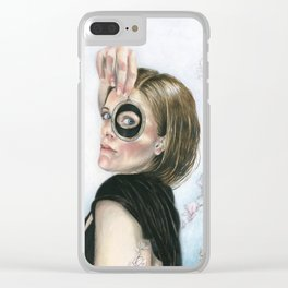 Lover's Eye Clear iPhone Case