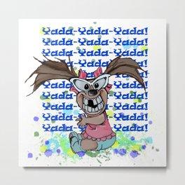 Yada Metal Print