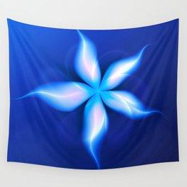 La Fleur Magique de la Sorcière Fractal Wall Tapestry