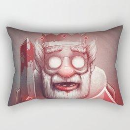 King of Doom Rectangular Pillow