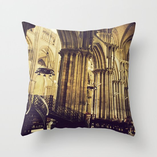 The Cathedral II Throw Pillow