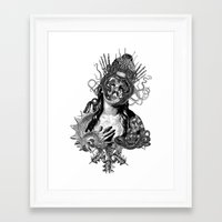 passion Framed Art Prints featuring Passion by DIVIDUS