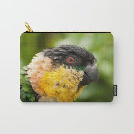 Preening parrot Carry-All Pouch
