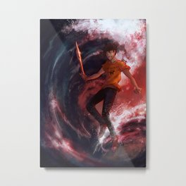 Dark Percy Metal Print