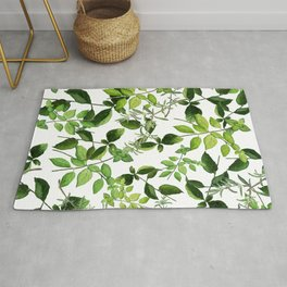 I Never Promised You an Herb Garden Rug